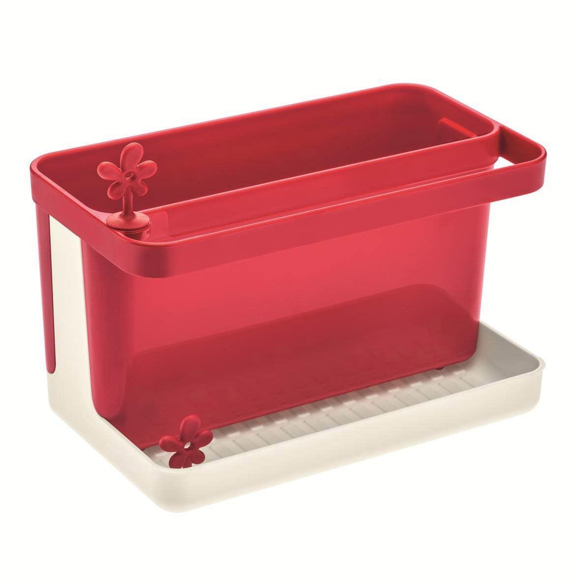 Bac rangement vier plastique rouge rouge n 3 leroy merlin for Bac plastique poisson rouge