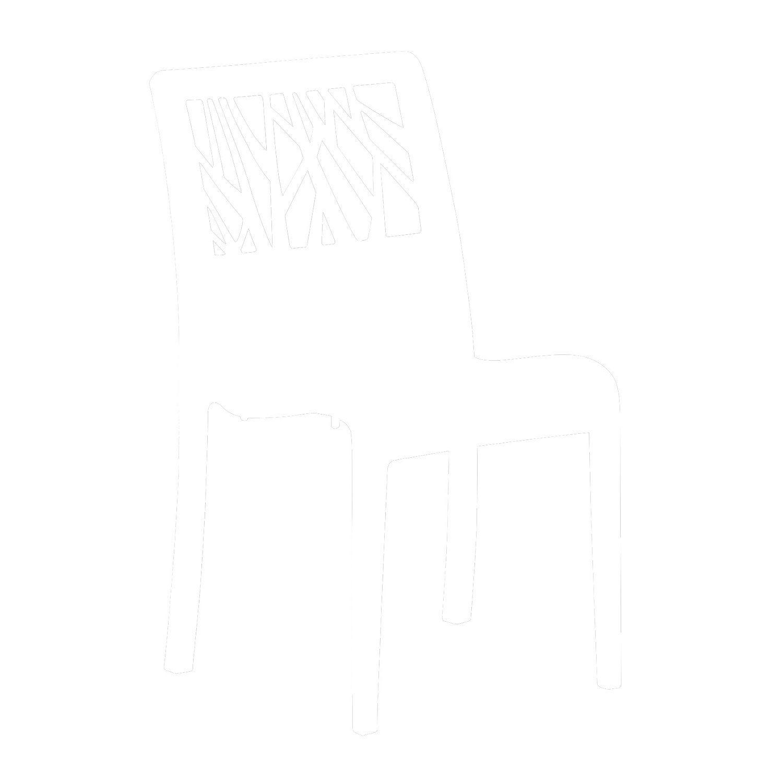 chaise de jardin en r sine inject e v g tal anthracite leroy merlin. Black Bedroom Furniture Sets. Home Design Ideas