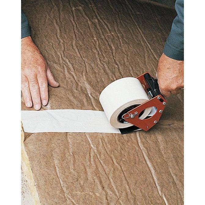 Rouleau adh sif plasto pour laine de verre laine de roche 75 mm x 66 m ler - Leroy merlin rouleau adhesif ...