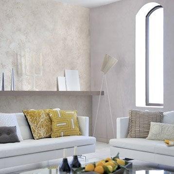 Peinture d corative sable pr cieux luxens blanc lin 6 2 - Peinture leroy merlin luxens ...