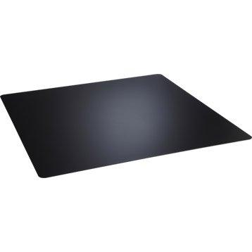 Plaque de protection sol en acier noire 100 x 100 cm leroy merlin - Protection plaque de cuisson leroy merlin ...