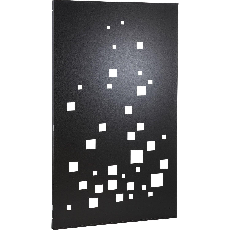 Plaque de protection murale noir atelier dixneuf evanescence cm x - Plaque de bois leroy merlin ...
