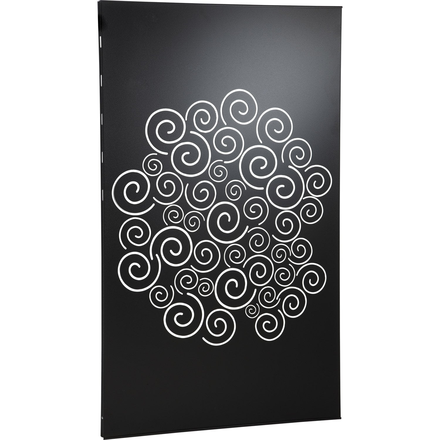plaque de protection murale gorgone noir cm leroy merlin. Black Bedroom Furniture Sets. Home Design Ideas