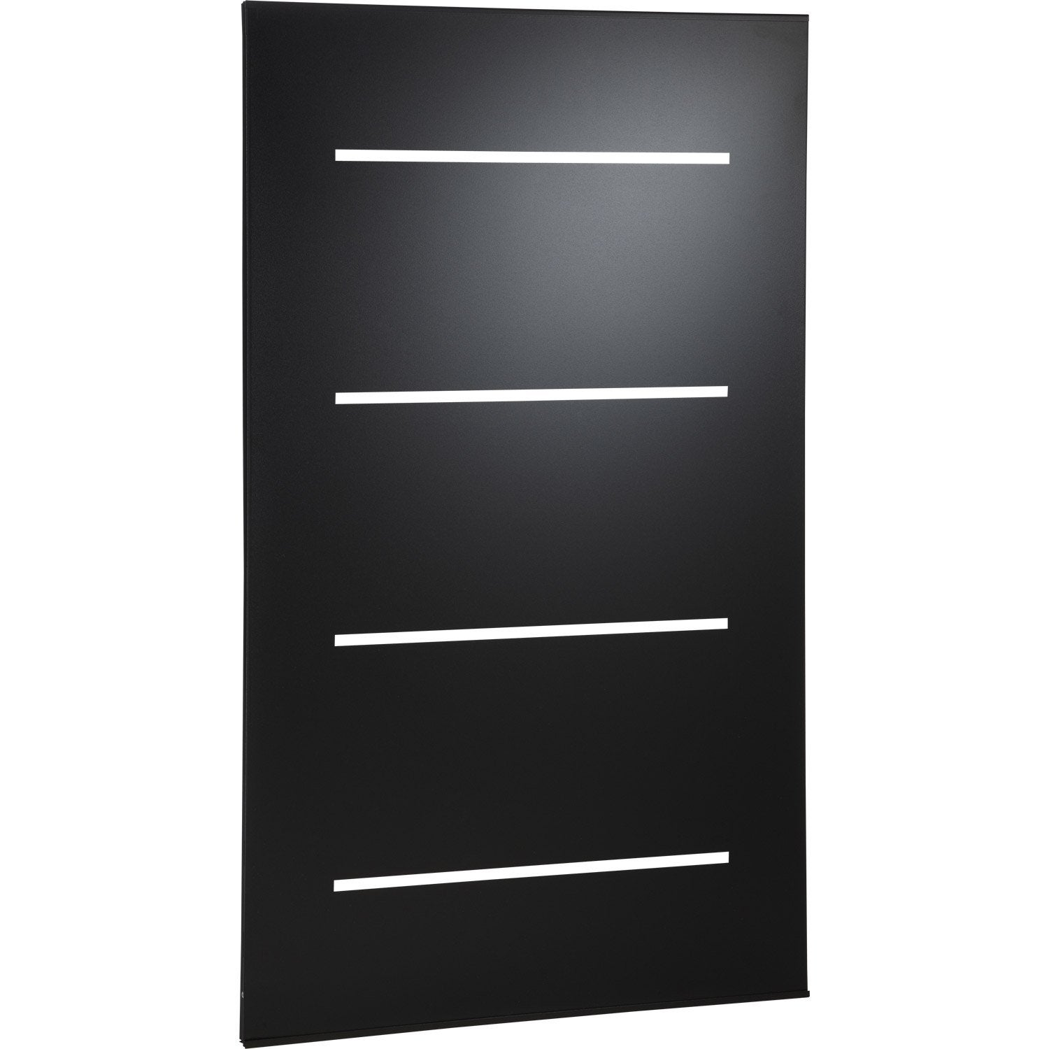 plaque de protection murale acier noir atelier dix neuf. Black Bedroom Furniture Sets. Home Design Ideas