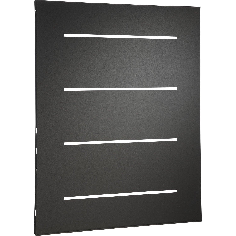 Plaque de protection murale acier noir atelier dix neuf for Protection murale plaque de cuisson