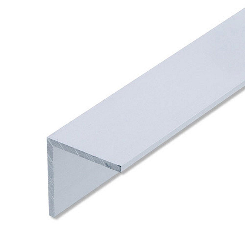 corni re gale aluminium anodis l 1 m x l 4 cm x h 4 cm. Black Bedroom Furniture Sets. Home Design Ideas