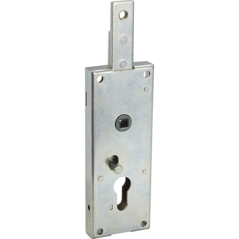 Serrure en applique thirard axe 58 mm poign e ouverture droite ou gauche leroy merlin - Canon de porte ...