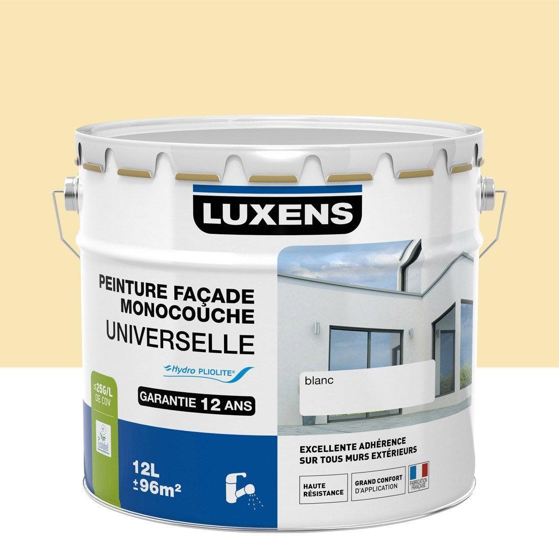 Peinture fa ade universelle luxens ton pierre 10 l for Peinture appui de fenetre leroy merlin
