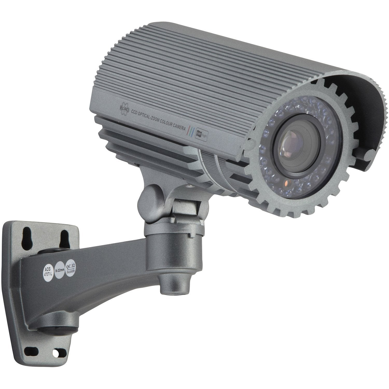 Cam ra de surveillance filaire elro ccd474z leroy merlin - Camera factice leroy merlin ...