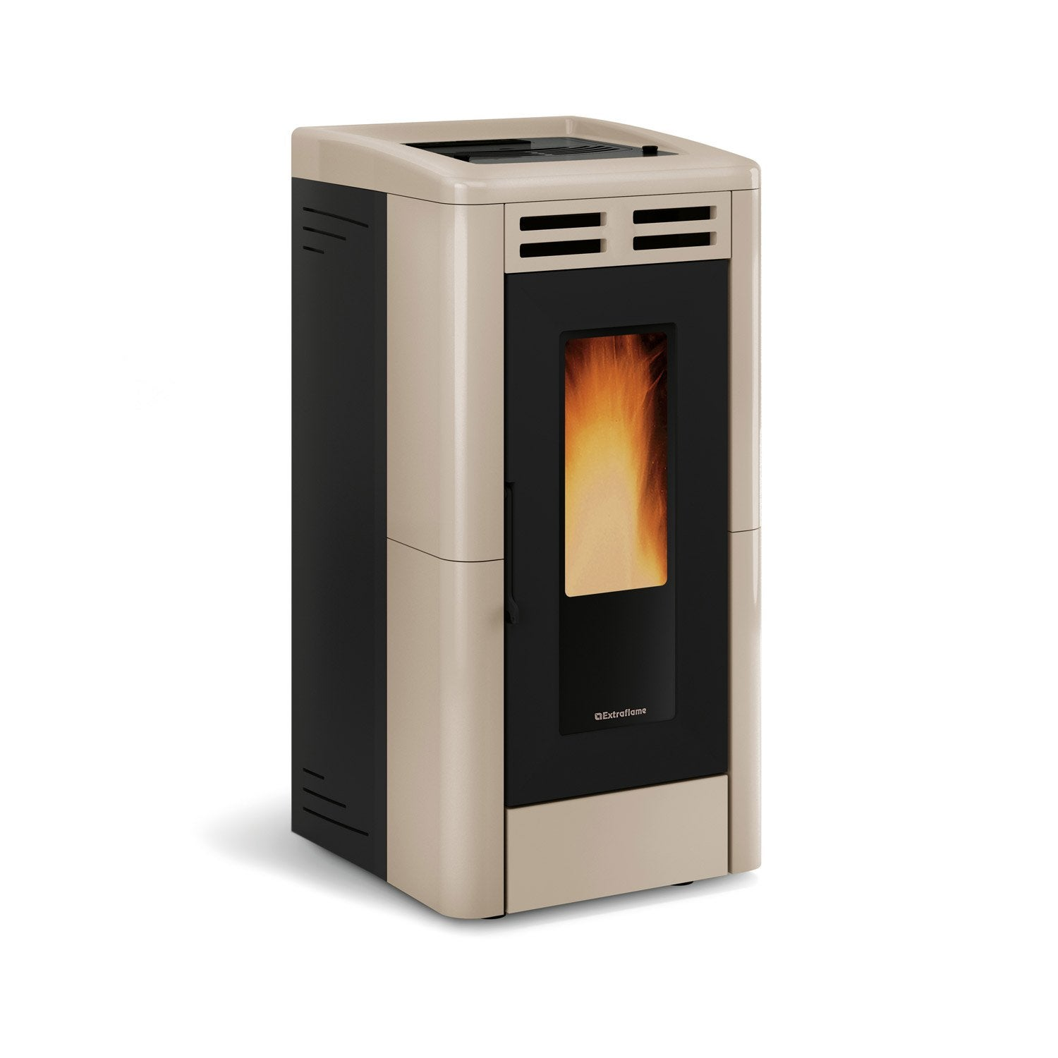po le granul s extraflame anastasia plus tortora 12 kw leroy merlin. Black Bedroom Furniture Sets. Home Design Ideas