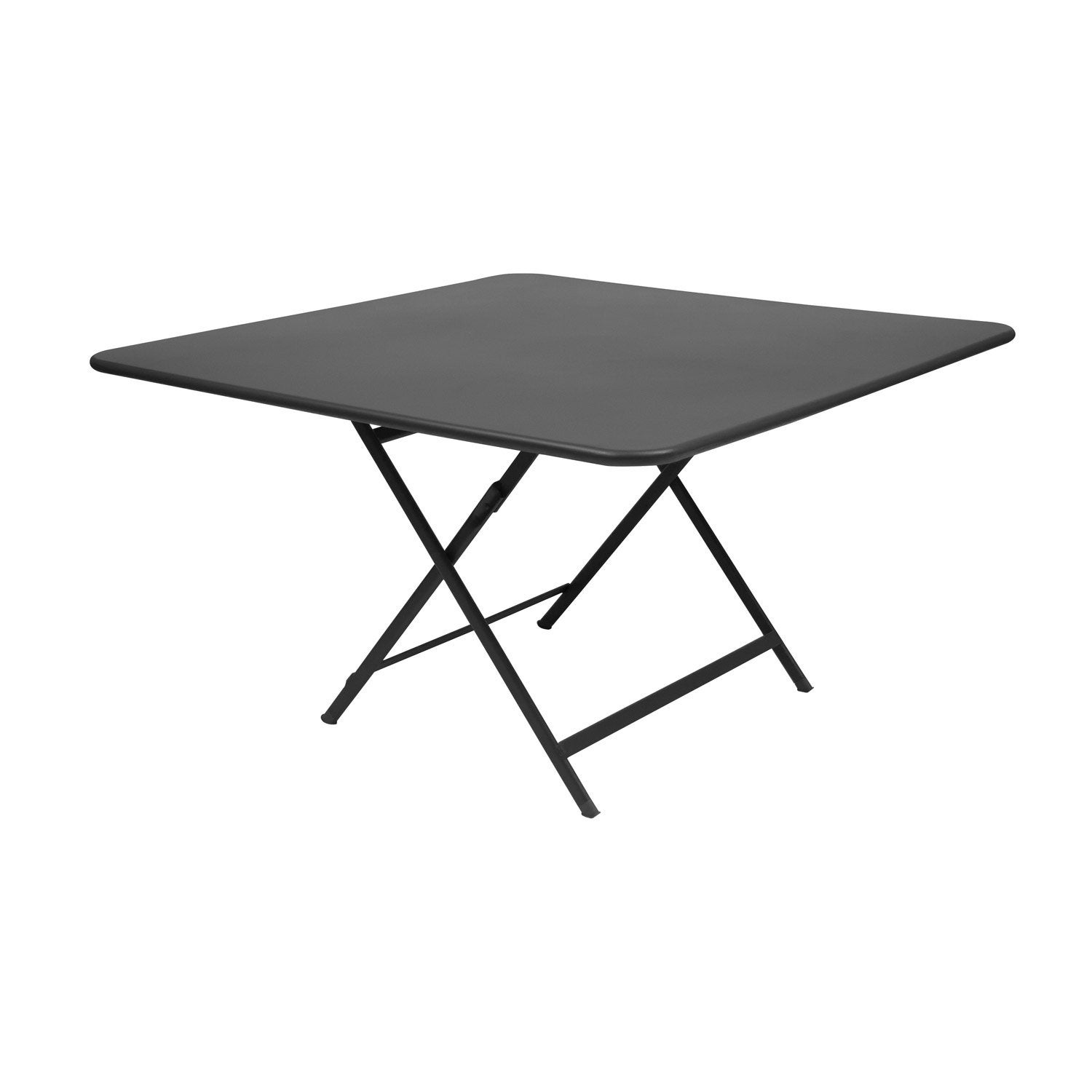 Table fermob cargo carr e carbone 8 personnes leroy merlin for Table exterieure carree 8 personnes