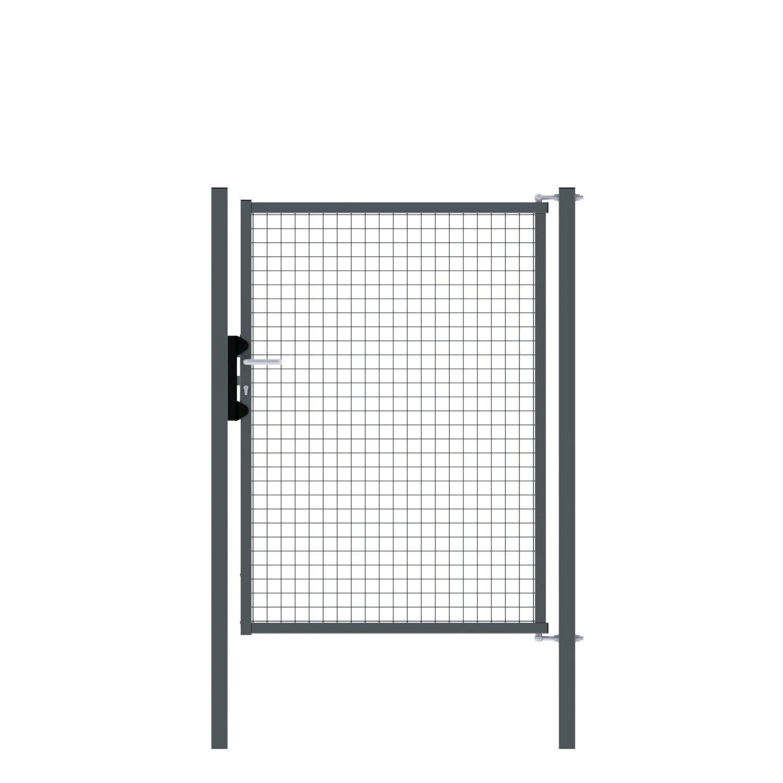 portillon soud egidia gris h x l maille 50x50mm leroy merlin. Black Bedroom Furniture Sets. Home Design Ideas