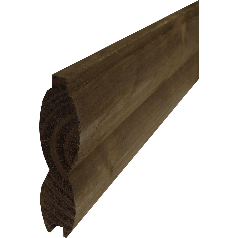 lame en bois embo ter brun x cm x mm leroy merlin. Black Bedroom Furniture Sets. Home Design Ideas