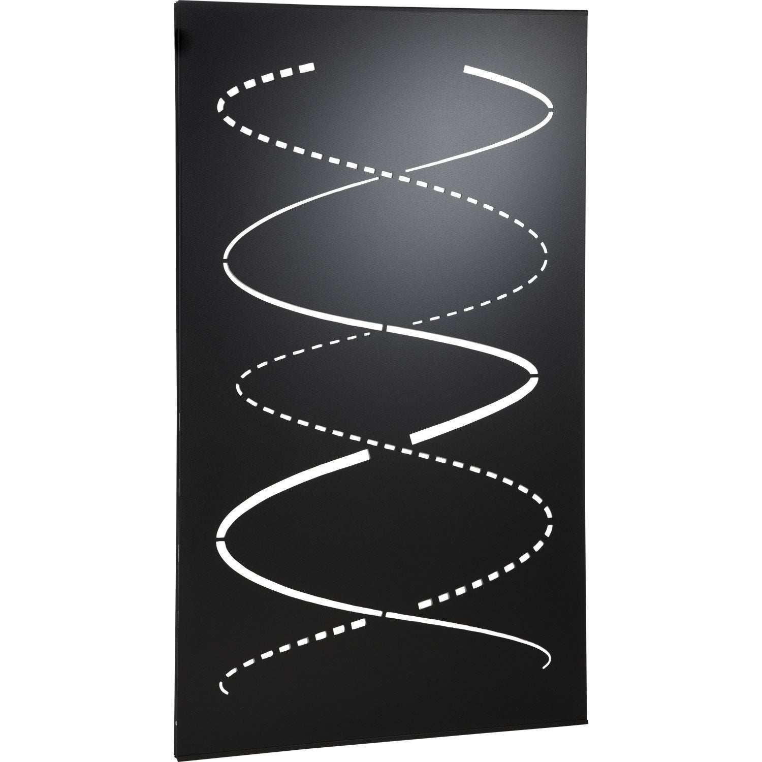 plaque de protection murale loom gris l60xh100 cm leroy merlin. Black Bedroom Furniture Sets. Home Design Ideas