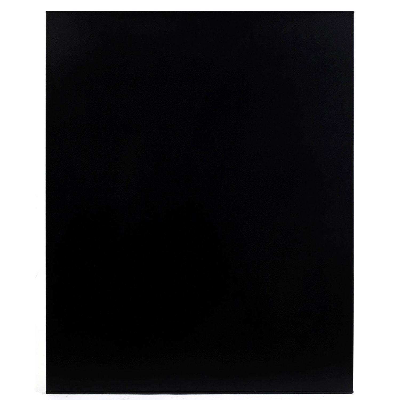 Plaque de protection murale acier noir atelier dix neuf for Decoration murale acier
