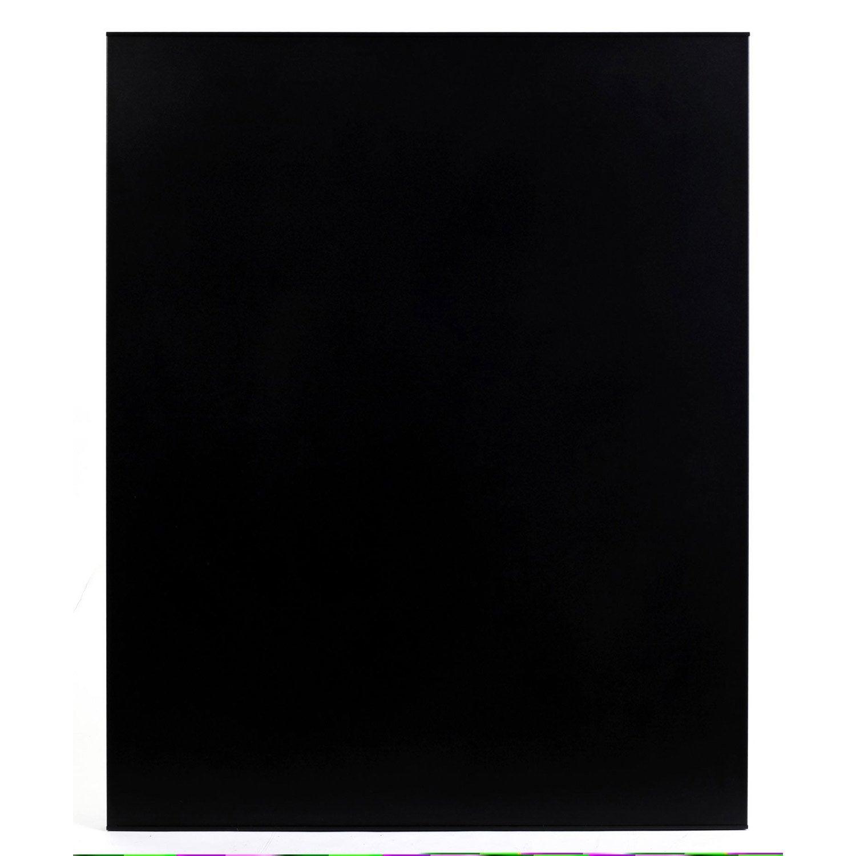Protection murale en acier coloris noir 80 x 100 cm - Protection peinture murale ...