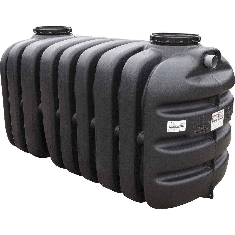 Fosse septique avec pr filtre sotralentz 3000 l leroy for Analyse de sol pour fosse septique