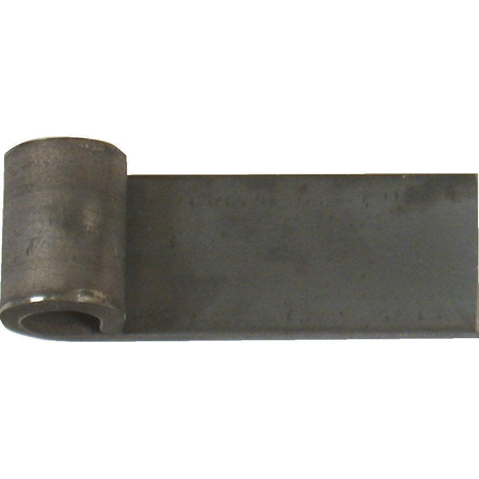 noeud souder en acier brut pour portails battants haut 40 mm leroy merlin. Black Bedroom Furniture Sets. Home Design Ideas