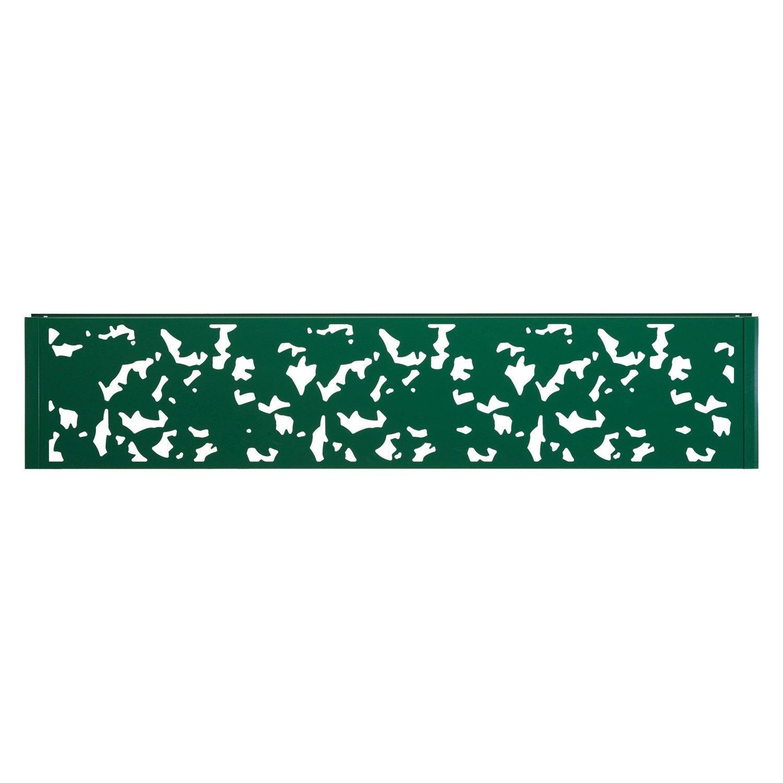 Panneau d coratif vert h 0 4 x l 1 9 m leroy merlin for Panneau isolant exterieur decoratif