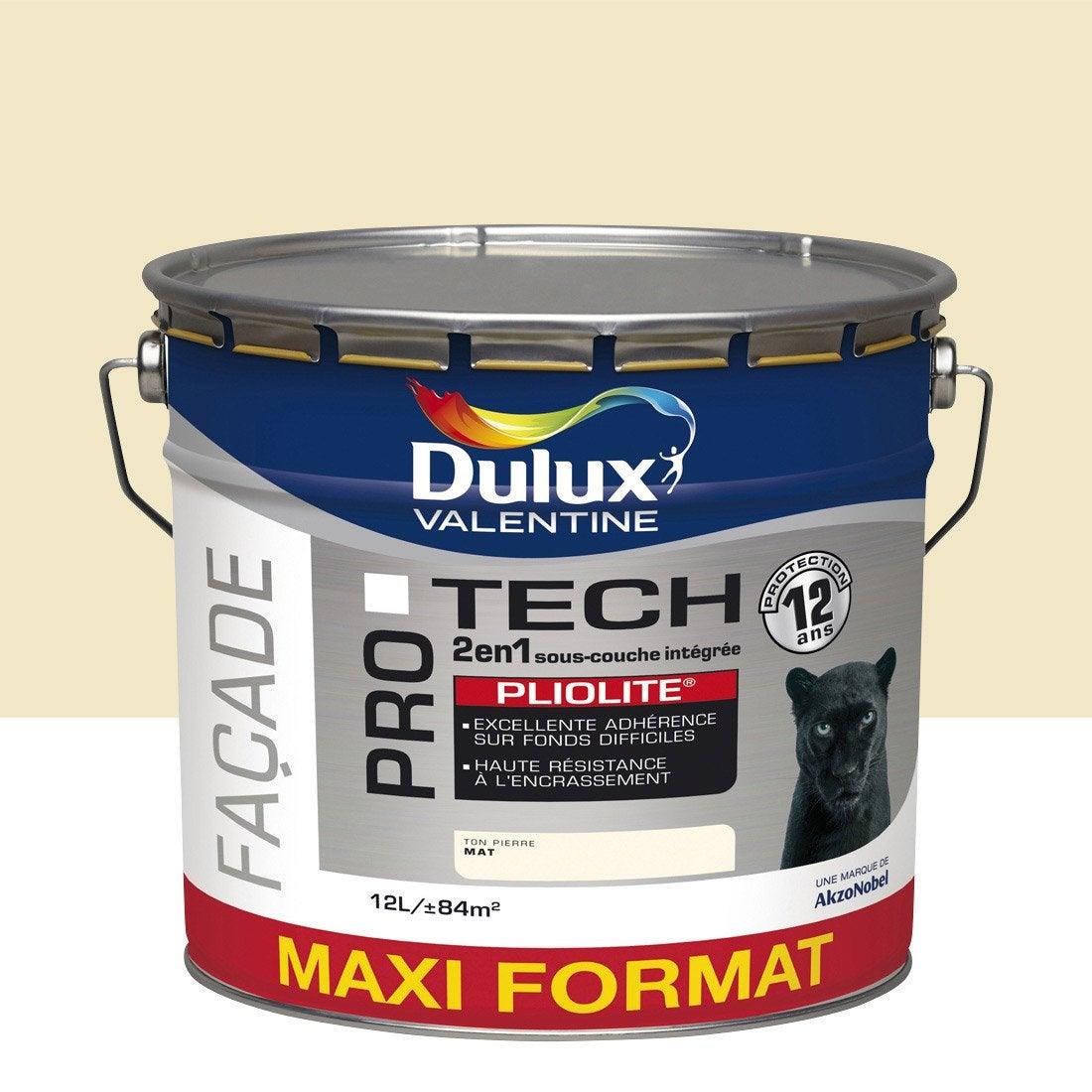 Peinture fa ade protech pliolite dulux valentine ton for Peinture facade pliolite