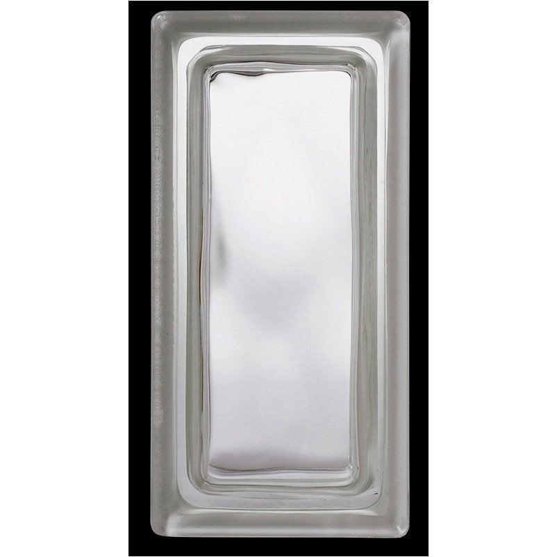 brique de verre pegas ondul e brillante transparente. Black Bedroom Furniture Sets. Home Design Ideas