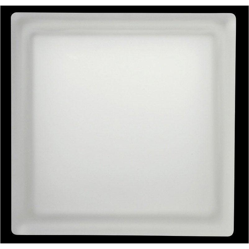 Brique de verre transparent lisse satin leroy merlin - Toile de verre lisse leroy merlin ...