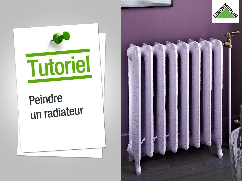 comment peindre un radiateur ? | leroy merlin - Comment Peindre Un Radiateur En Fonte