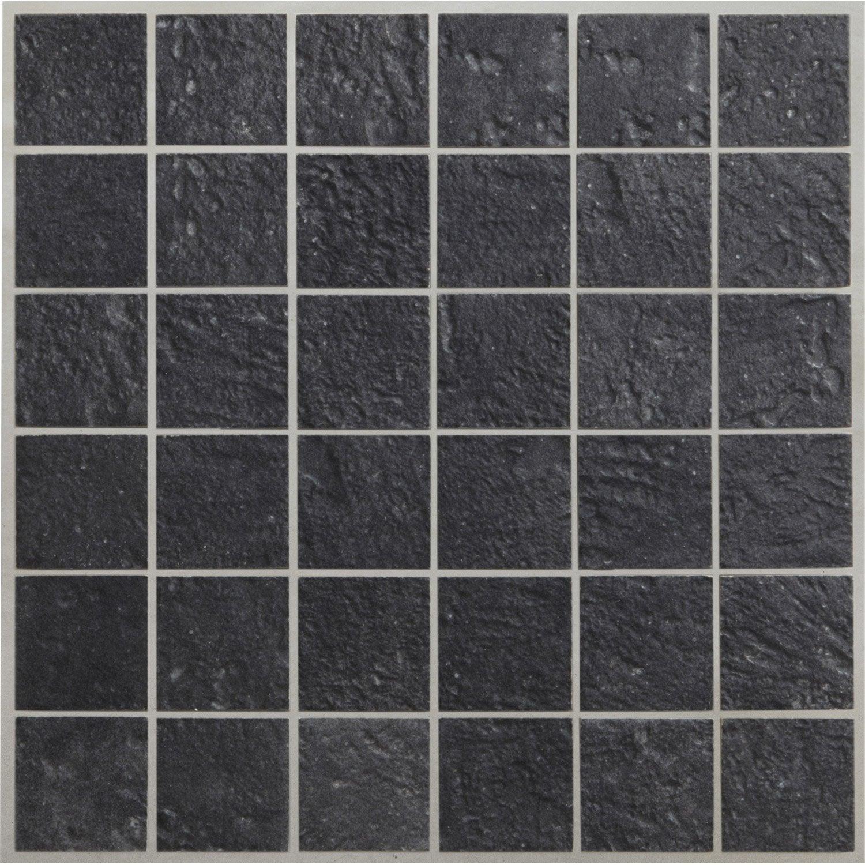 mosa que sol et mur vestige anthracite 5 x 5 cm leroy merlin. Black Bedroom Furniture Sets. Home Design Ideas