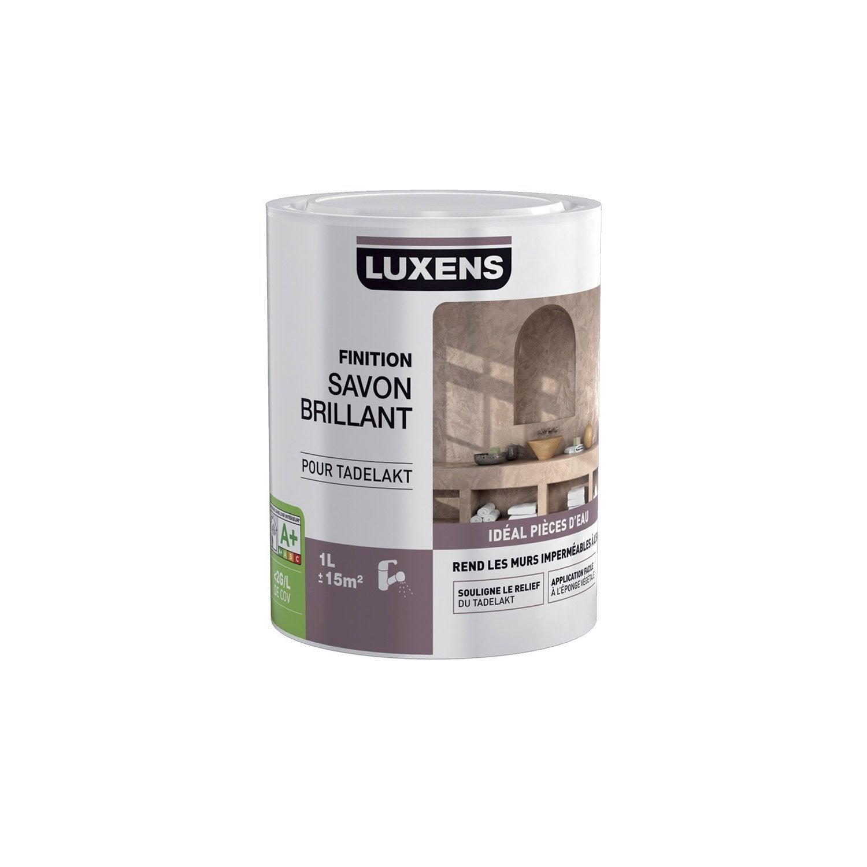 Peinture effet tadelakt luxens incolore 1 l leroy for Tadelakt cuisine