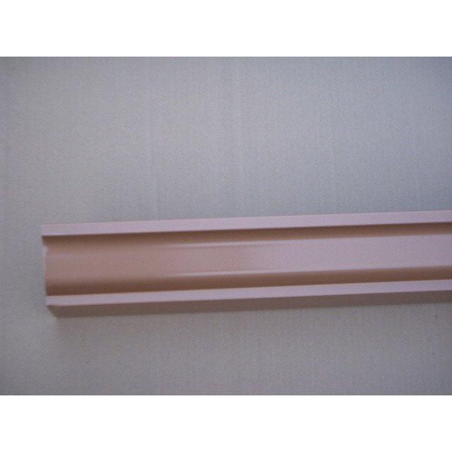 Goutti re aluminium scover plus d cm rose l 4 m for Gouttiere alu leroy merlin