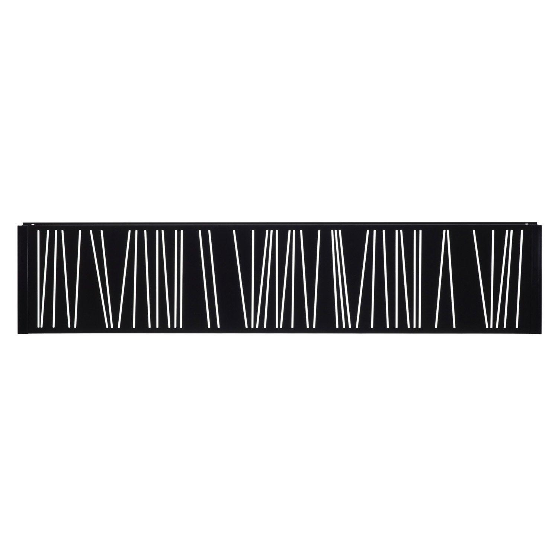 Panneau d coratif noir h 0 4 x l 1 9 m leroy merlin - Panneaux decoratif leroy merlin ...