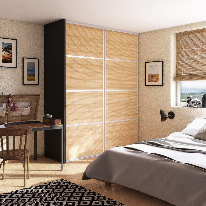 joue gris graphite spaceo x cm leroy merlin. Black Bedroom Furniture Sets. Home Design Ideas