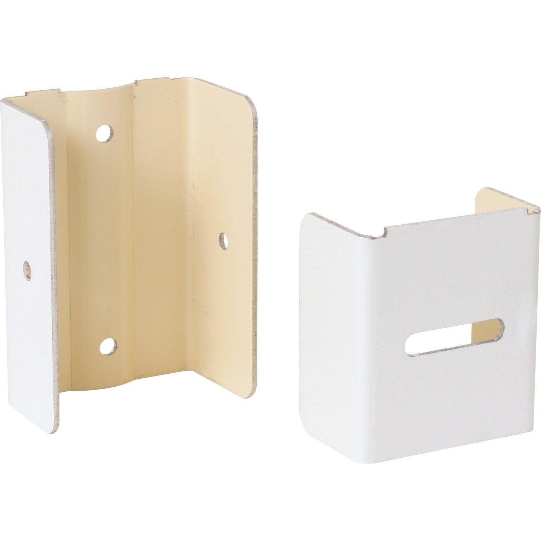 fixation pour goutti re d v 30 azurelle blanc aluminium l 4 7 x l 3 cm leroy merlin. Black Bedroom Furniture Sets. Home Design Ideas