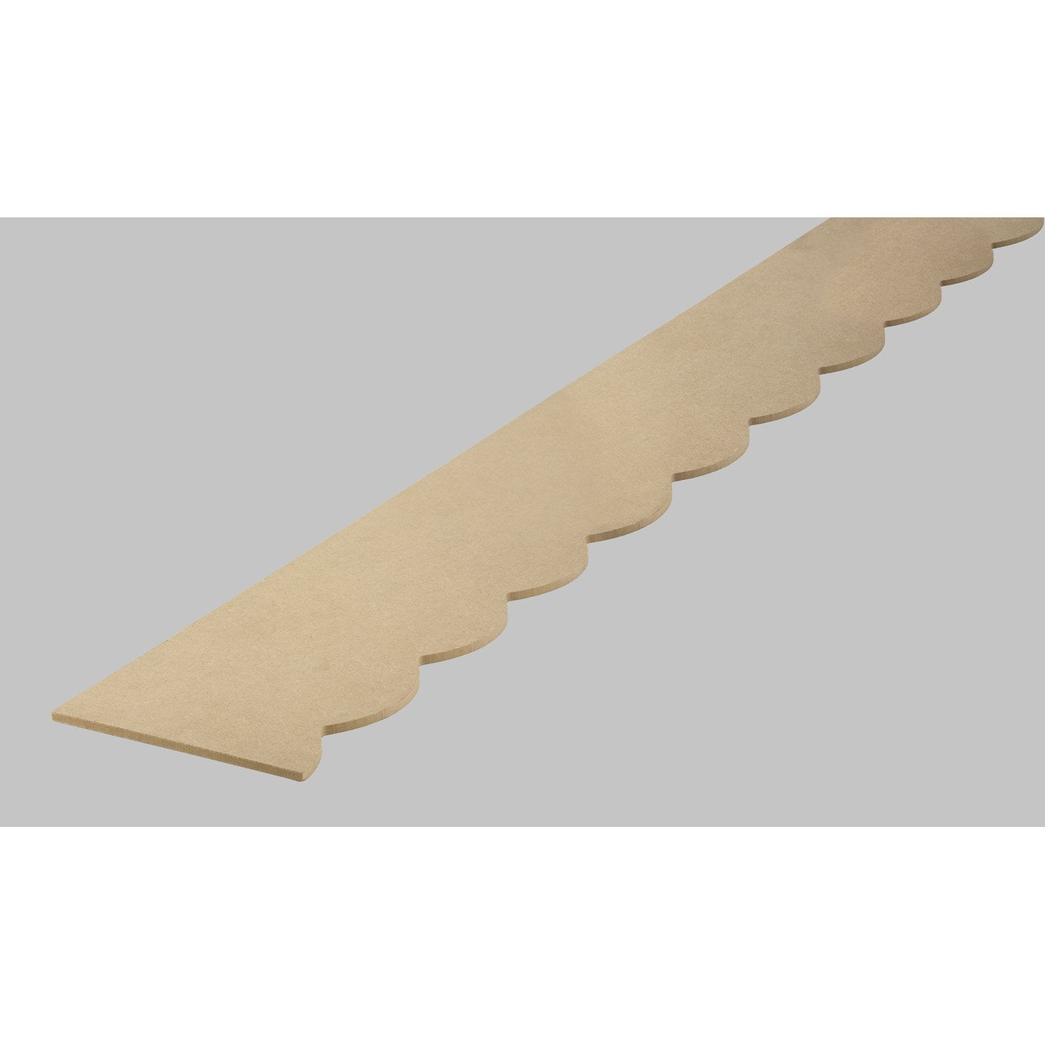 frise savoie en mdf brut 198cm section 18x6mm leroy merlin