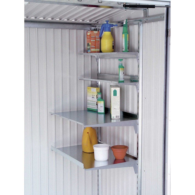 Etag res en acier galvanis biohort europa avgarde armoire for Biohort leroy merlin
