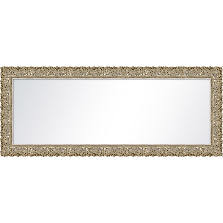 Miroir orn argent x cm leroy merlin for Miroir 50 x 150