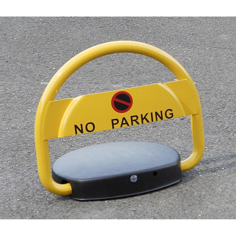 Barri re de parking automatique mottez coloris jaune leroy merlin - Barriere de piscine leroy merlin ...