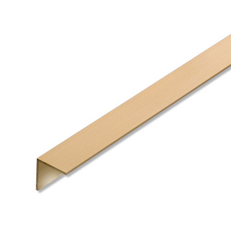 Corni re gale aluminium anodis l 2 m x l 2 cm x h 2 cm - Corniere alu leroy merlin ...
