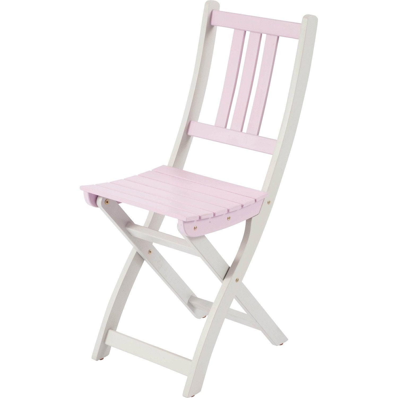 Chaise de jardin en bois burano bouquet orchid es leroy merlin - Leroy merlin chaise jardin ...
