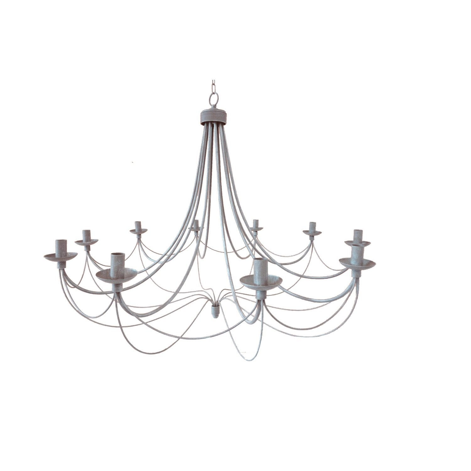 Lustre baroque leroy merlin amazing suspension e design zipy aluminium alu x w inspire with - Lustre baroque multicolore ...