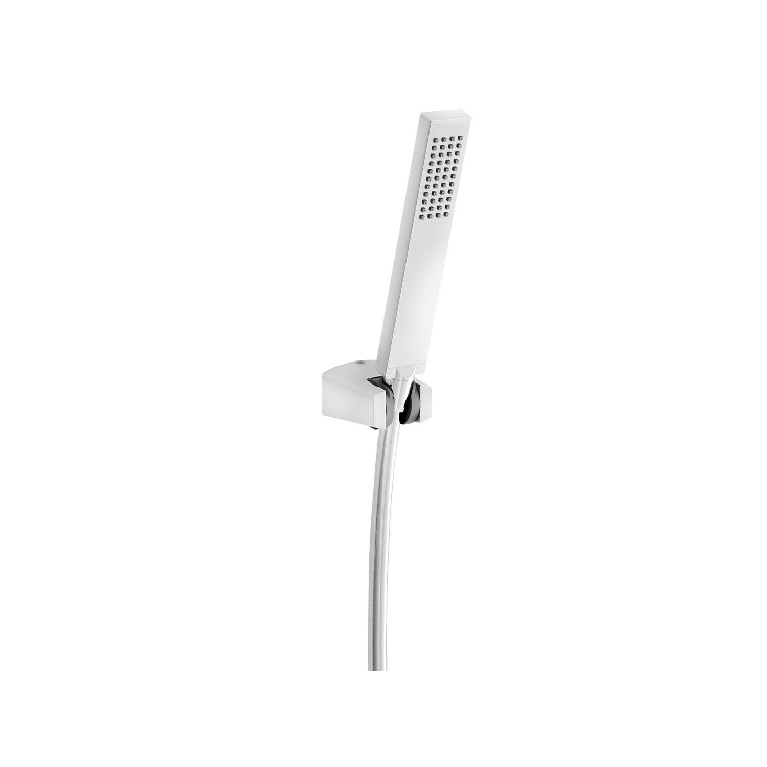 Pommeau de douche 1 jet flexible support carre ice leroy merlin - Pommeau douche leroy merlin ...