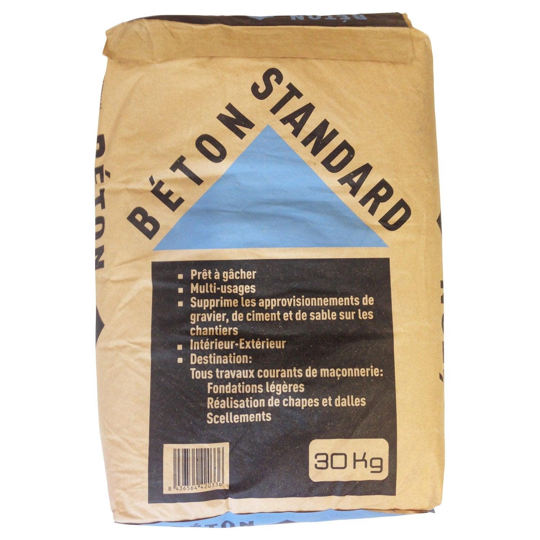 B ton standard 30 kg leroy merlin - Dosage beton pour terrasse ...