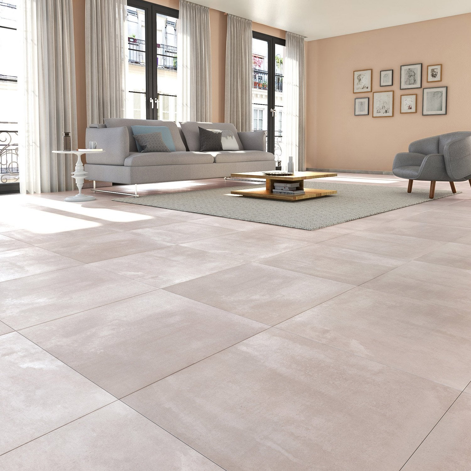 carrelage gris clair maison design apsipcom