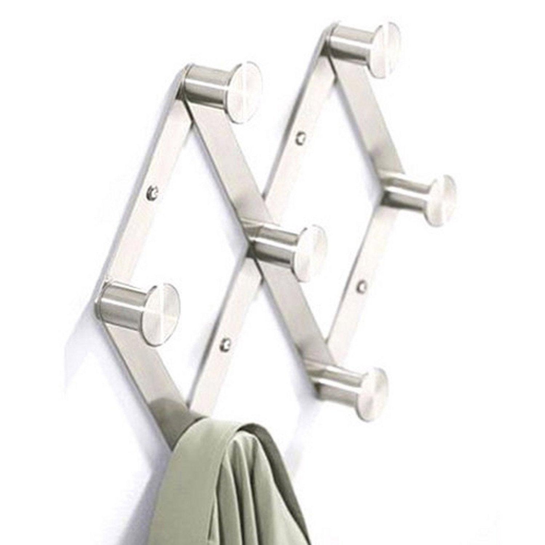 porte manteau visser 7 t tes leroy merlin. Black Bedroom Furniture Sets. Home Design Ideas