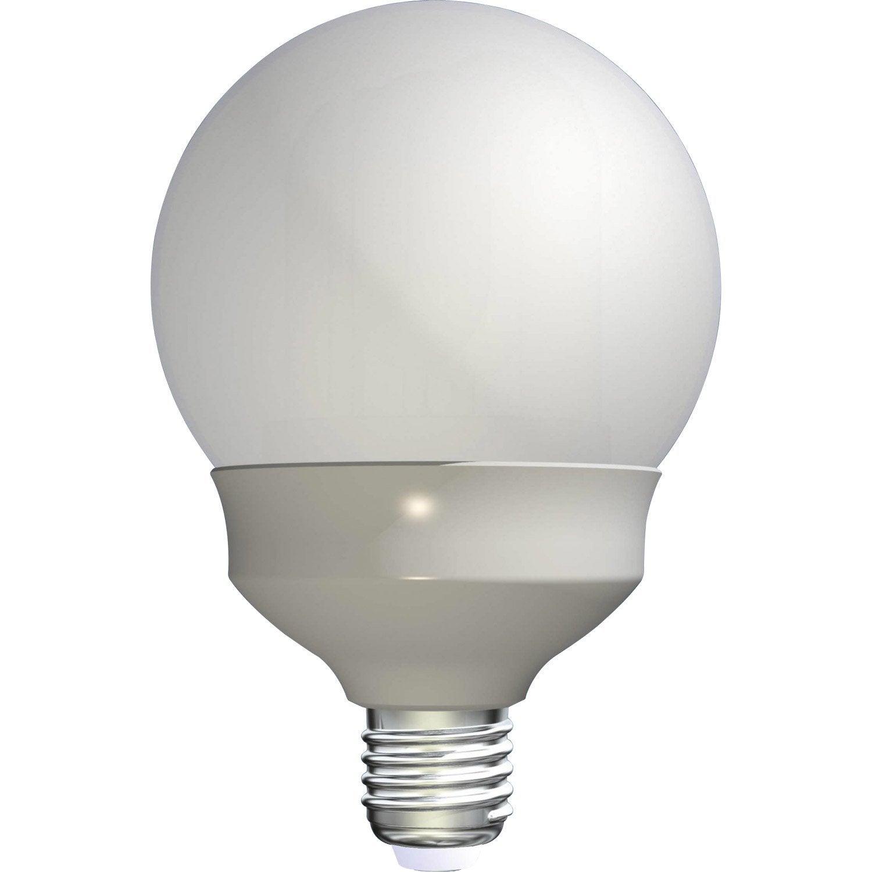 ampoule globe conomie d 39 nergie 23w lexman e27 lumi re. Black Bedroom Furniture Sets. Home Design Ideas