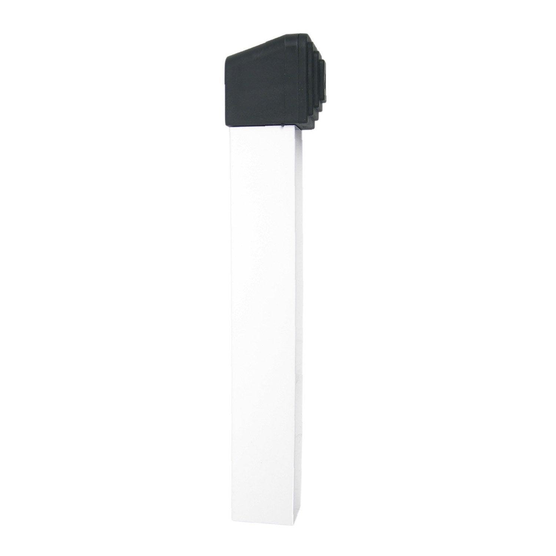 arr t sceller en aluminium laqu pour portails coulissants haut 38 cm leroy merlin. Black Bedroom Furniture Sets. Home Design Ideas