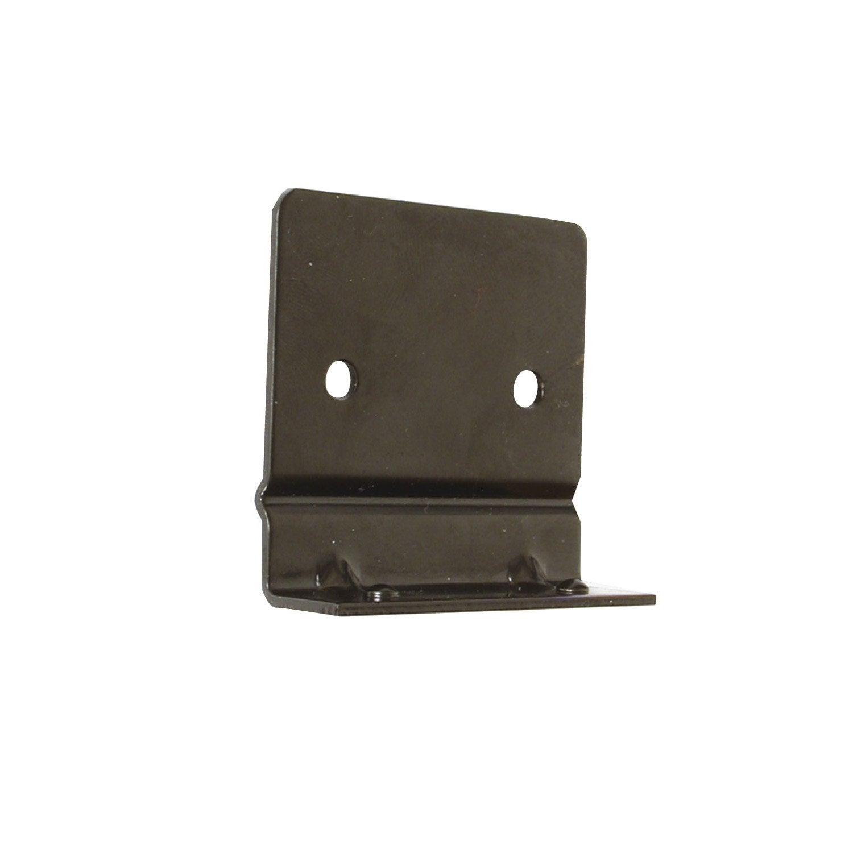 lot de 2 plaques anti soul vement acier pr peint x x mm leroy merlin. Black Bedroom Furniture Sets. Home Design Ideas