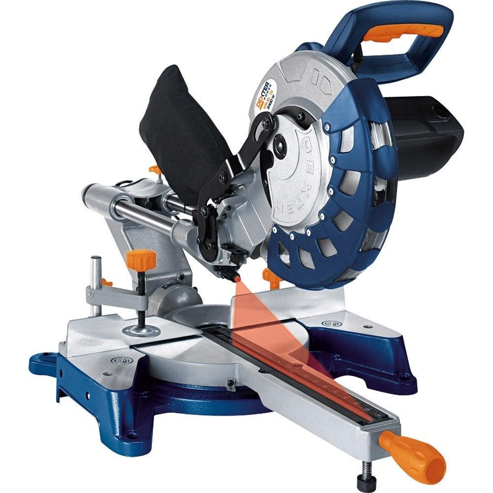 scie onglet dexter power mssl10 254mm 2400w leroy merlin. Black Bedroom Furniture Sets. Home Design Ideas