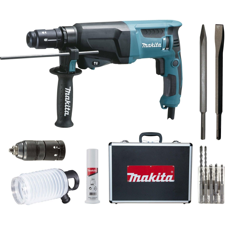 Marteau perforateur sds plus makita hr2320tsp1 720 w for Prix d un perforateur