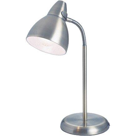 Lampe de bureau poser acier parga leroy merlin - Leroy merlin lampe bureau ...